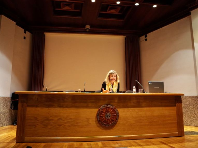 JUDITH PRAT EN BARBASTRO BOKO HARAM, UNA GUERRA CONTRA ELLAS 7 BY DOMINIQUE LEYVA