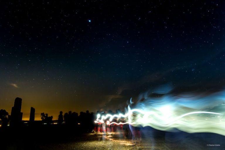 Piracés, luces y estrellas by Chema Usieto [800x600]