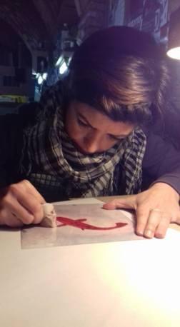 MARIA LUNA AT WORK 1 BY P VIDAL ANTONI P VIDAL