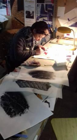 MARIA LUNA AT WORK 3 BY P VIDAL ANTONI P VIDAL