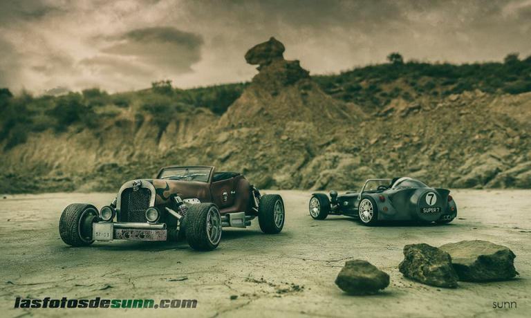 RAT ROD AND CATERHAM SUPER SEVEN BY RAUL SUNN