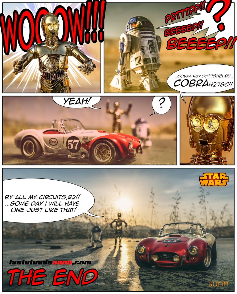 STARS WARS COMIC BY RAUL SUNN