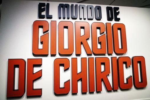 EL MUNDO DE GIORGIO DE CHIRICO EN CAIXAFORUM ZARAGOZA BY DOMINIQUE LEYVA 1