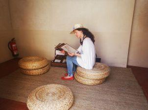 Textos en el palacio dar al horra BY MARTA AUSABERRI