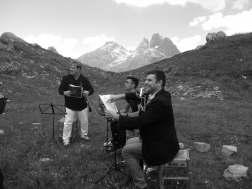 #A 1794m. Cuarteto tocando el cielo Concierto para clarinete, desde Peer Grynt de E.Grieg hasta Pasadoble de Agüero pasan HVdo por danzas rumanas de B.Bartok y Lackme de L.Delibes