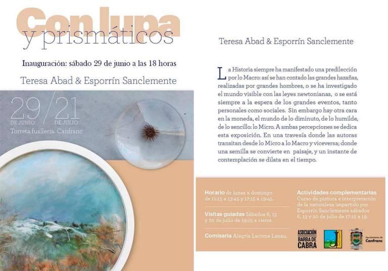 CON LUPA Y PRISMÁTICOS BY TERESA ABAD Y PILAR ESPORRÍN SANCLEMENTE
